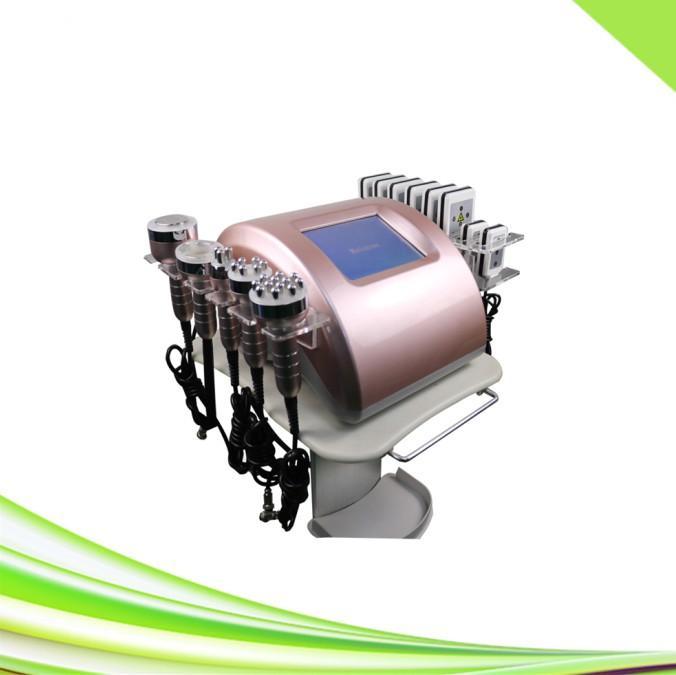 6 in 1 vuoto dimagrante corpo macchina cavitazione i lipo macchina lipolaser