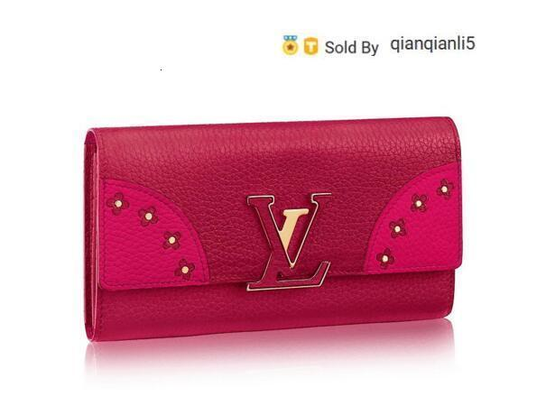 qianqianli5 EXCK WALLET M64642 NEW WOMEN FASHION SHOWS EXOTIC LEATHER BAGS ICONIC BAGS CLUTCHES EVENING CHAIN WALLETS PURSE