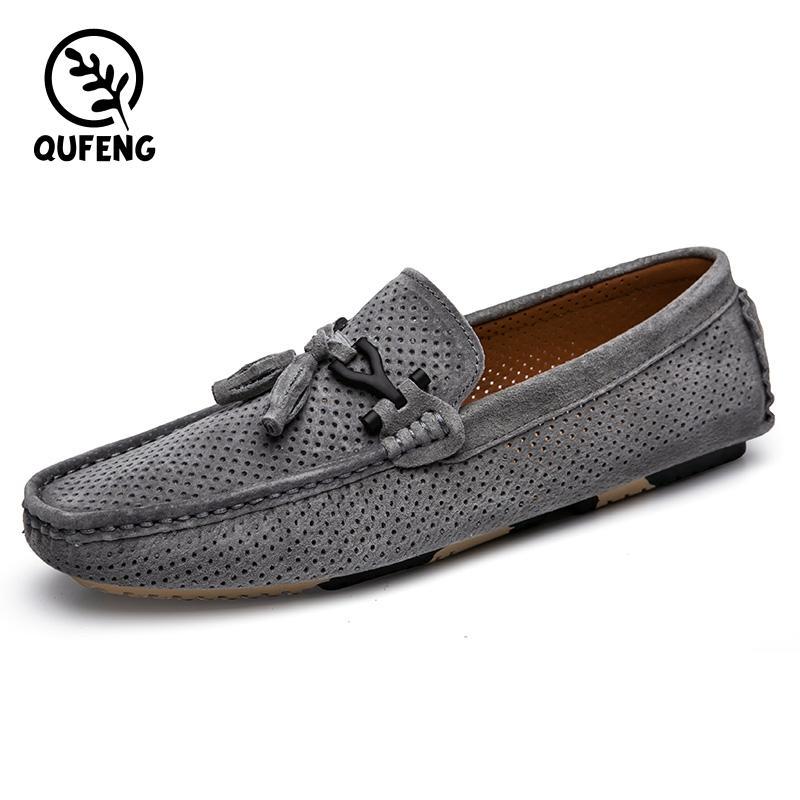 Вождение Обувь Резина SoleCheap Мода Кожа Fancy Мужчины Loafer обувь