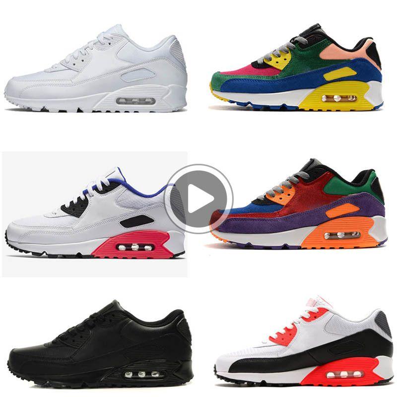 Alta qualità nuovo cuscino di arrivo 90 pattini correnti di sport per gli uomini donne Scarpe Sneakers Taglia 36-45 XP5E