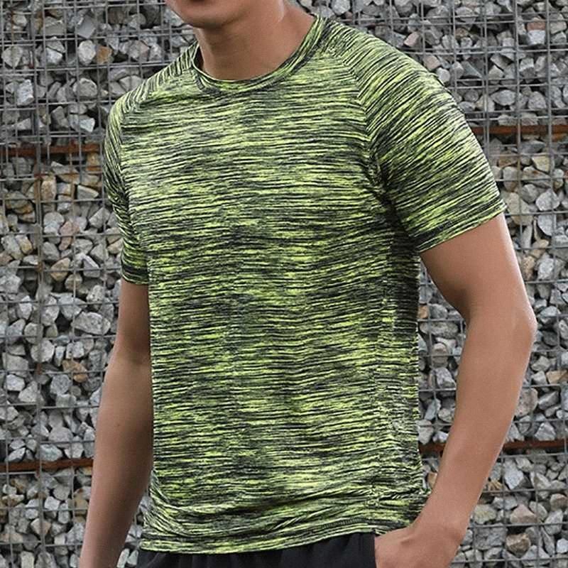 8XL Summer Men T Shirt Мышцы Бодибилдинг Спорт Беговая Tops Quick Dry фуфайки Tee рубашка с коротким рукавом Mesh Sportwear Camiseta V0Hk #