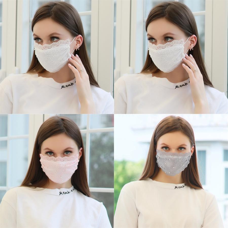 Máscaras Máscaras anti-polvo anti-Aze PM2,5 algodón a prueba de viento Protector solar impresión Máscara facial máscara protectora del adulto Wasable LSK319 # 940 # 438