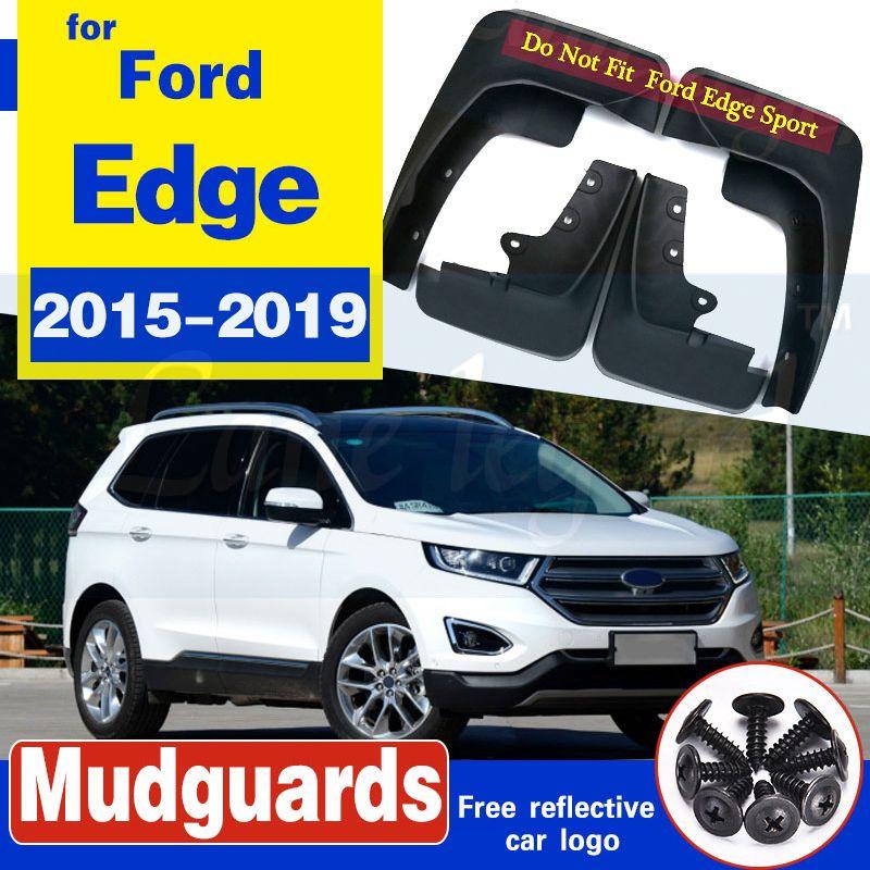 4Pcs Auto Vorne Hinten Schmutzfänger Kotflügel Schlamm Spritzschutz Mud Flaps Kotflügelverbreiterungen für Ford Edge 2015 2016 2017 2018 2019