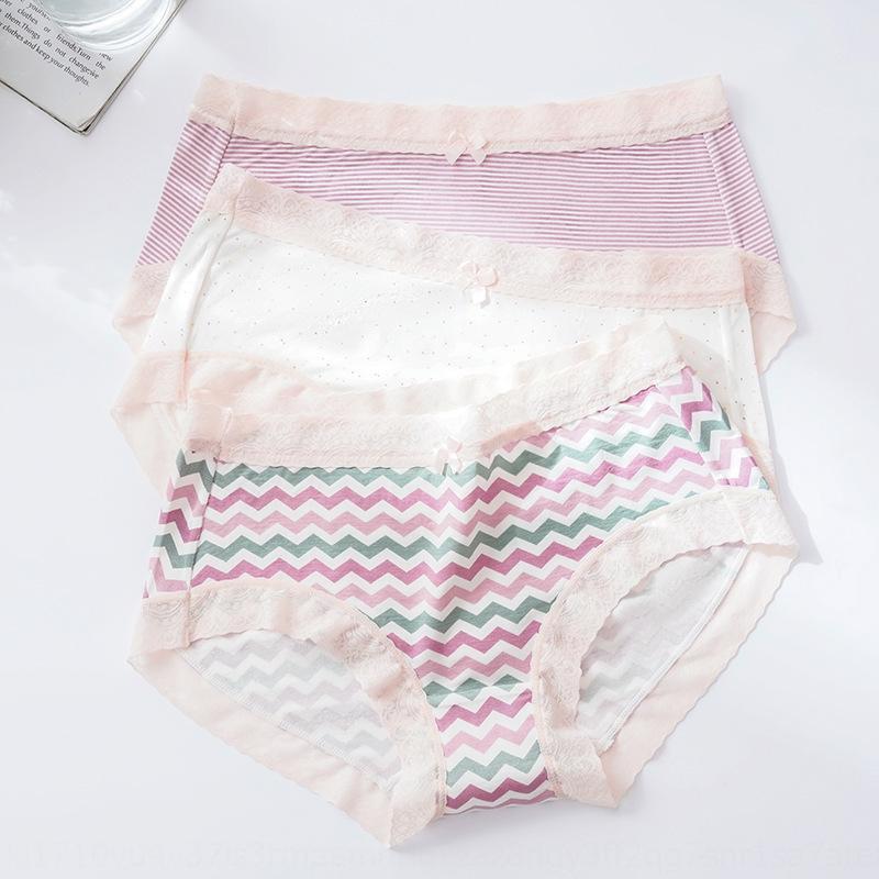 LeSSq Neue modale Mädchen Unterhose und Unterwäsche Unterwäsche niedlichen Cartoon mittlere Taille atmungs nahtlose Baumwoll Mädchen Slip box