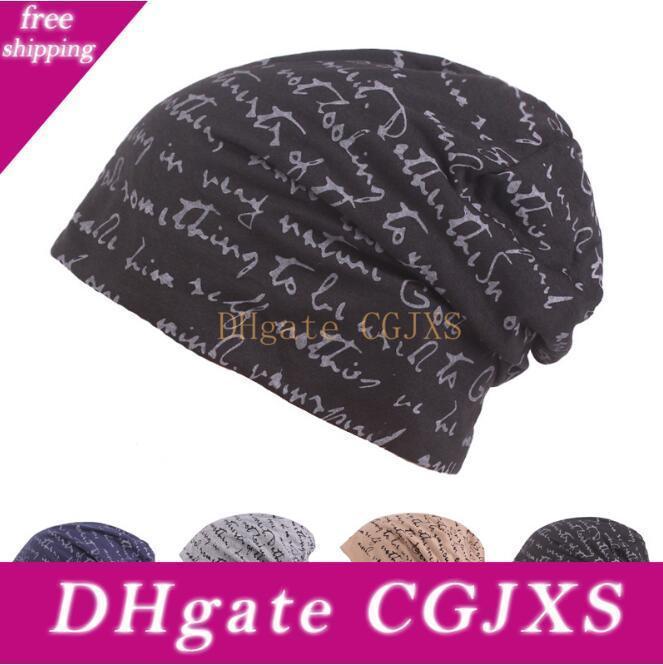 Hombres Mujeres sombrero unisex caliente hecha punto invierno del sombrero casquillo de la manera de la cadera 36pcs -Hop Beanie Cap Chapéu Femenino Mma1413