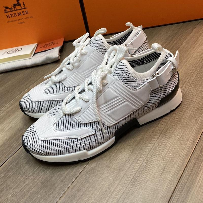 Atleta zapatilla de deporte de lujo 2020 nuevos hombres zapatos casuales para hombre del diseñador de los hombres zapatillas de deporte de alta calidad zapatos tenis transpirables A02 entrega rápida