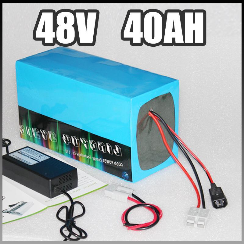 48v 3000w batteria elettrica della bici 40Ah Samsung bicicletta elettrica della batteria agli ioni di litio con BMS caricatore pacchetto 8FUN