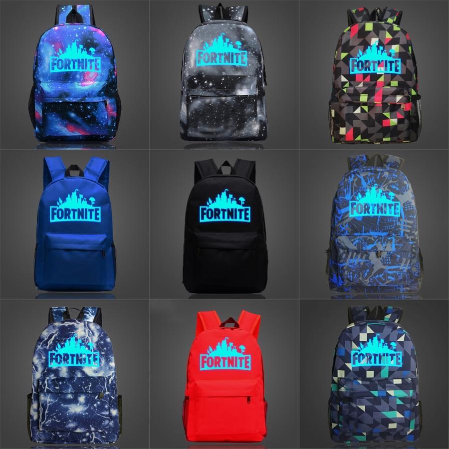 Philadelphia Fortnite Kalesi Gece Luminous Sırt Çantası Birliği Sırt çantası Talen Enerji Stadı Futbol Kulübü Schoolbag Futbol Rozet Sırt Çantası S # 444