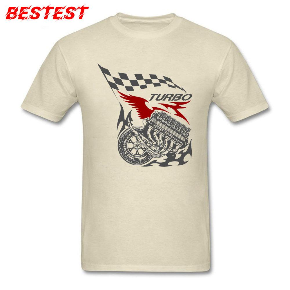 Прохладный футболки Мужчины Футболка Hip Hop O-образным вырезом Horsepower Вагон Racer Одежда хлопка с коротким рукавом автомобиля Tops автомобиля Тройники груза падения