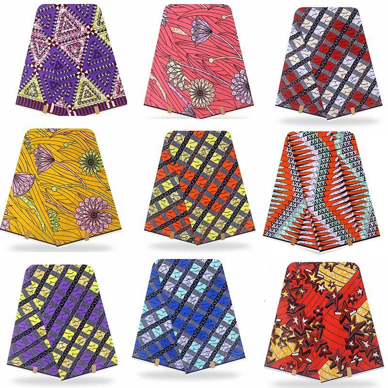 vero vero e proprio Cera originale garantito cera di alta qualità Pagne vero e proprio Cera 6yard africano Ankara Stampa tessuto cucito