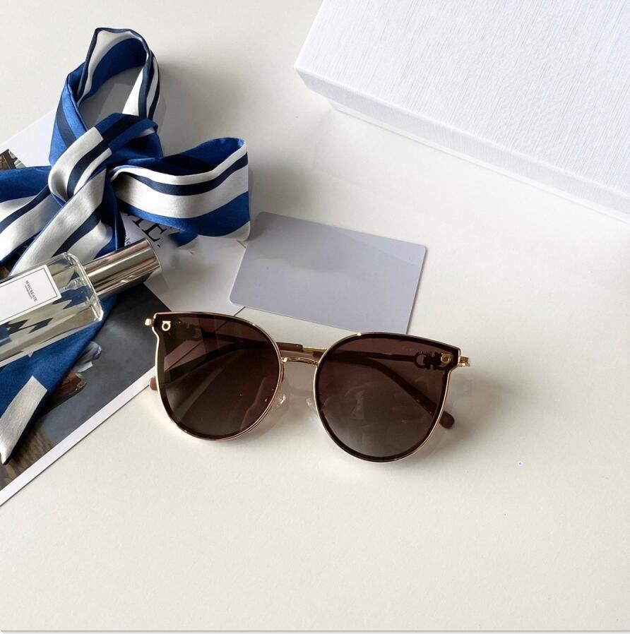 2020 Mens gafas mujer Adumbral Gafas de sol para hombre para mujer OCchiali da únicos Firmati lentes de cristal de alta calidad con la caja y la caja