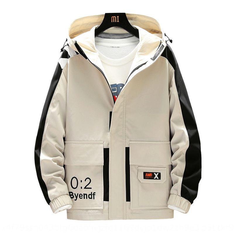 мужская весной куртка и осень 2020 новая корейский стиль модных плагин оснастка одежда функциональной случайной куртки мужской весна одежда WrCNY