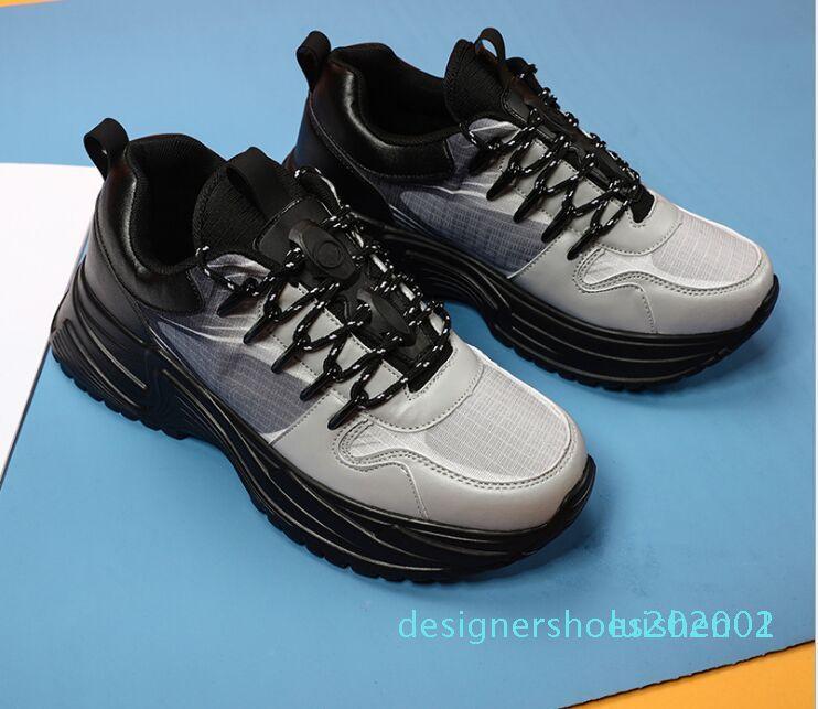 Mode Tripler Luxuries Run Pulsauswärts Herren Triple-S Indoor Soccer Designers Oxford Tennis-Schuh-Plattform-Trainer-zufällige Turnschuhe 1 d01