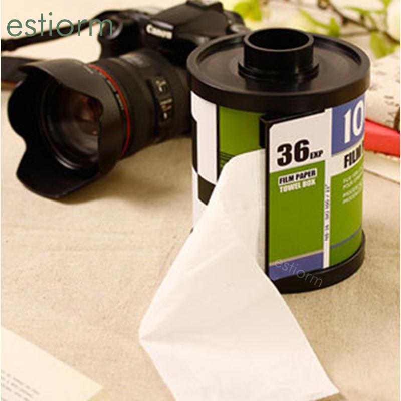 Tabletop Tissue Box, Filme Tissue Box Cover / Holder, Titular rolo de papel, banheiro titular rolo de papel, plástico Dispenser, caso o tecido