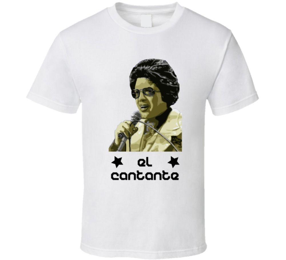 Hector Lavoe Latina Singer Guy T shirt T-shirt manica corta Top SUPERA IL T fresca estate di disegno di buona qualità di base