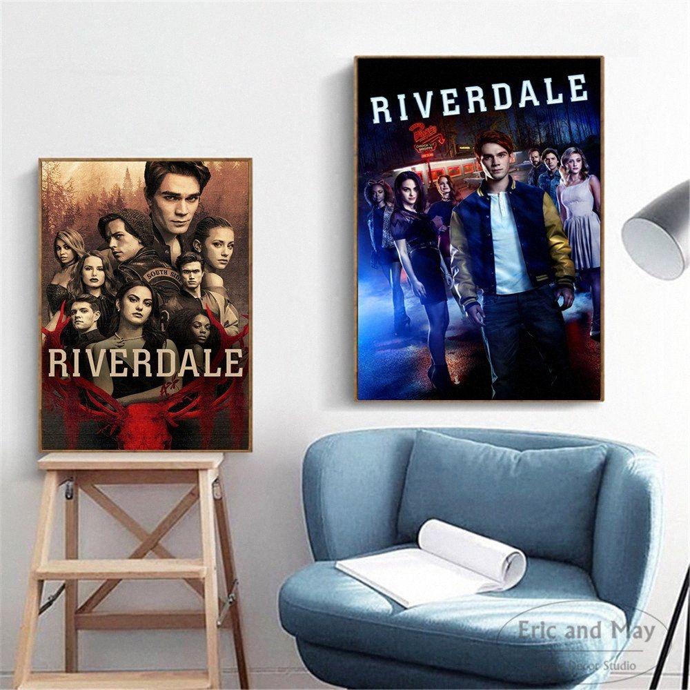Riverdale Sinema TV Dizileri Artwork Duvar Resimleri Posterler Baskılar Tuval Sanat Çerçevesiz Tablolar Dekorasyon Modern Ev Dekorasyonu Cuadro JNyv #