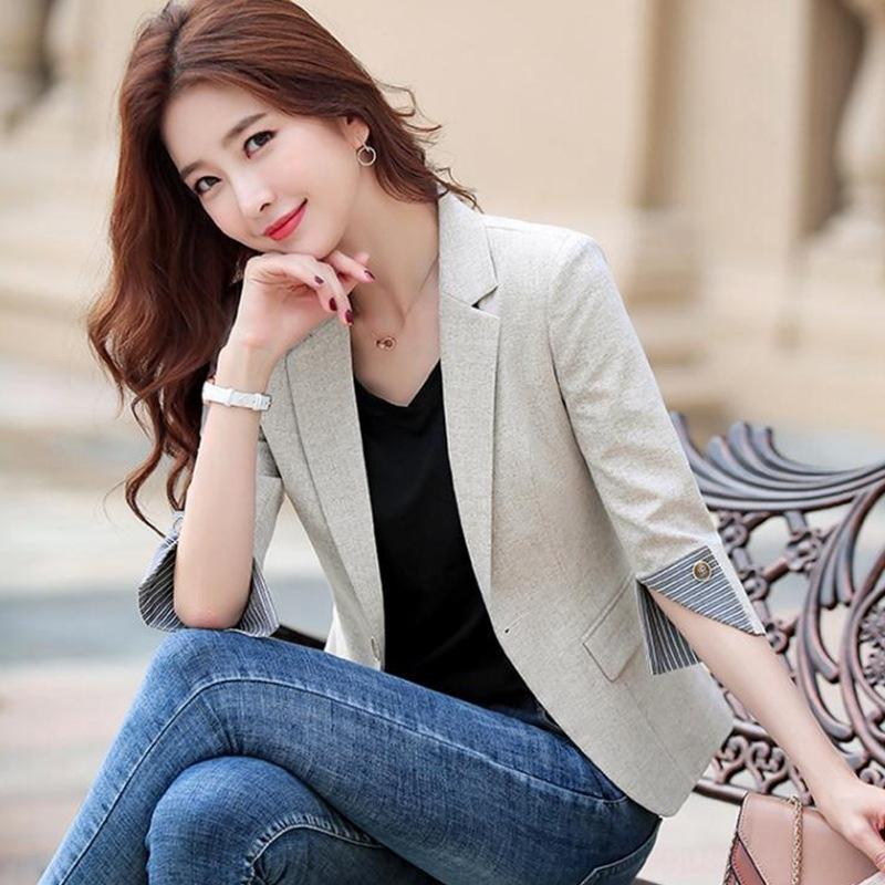2020 новый онлайн знаменитости CHIC небольшой костюма для студенток куртки Корейского стиля случайного короткой небольшого костюма куртка британского стиля