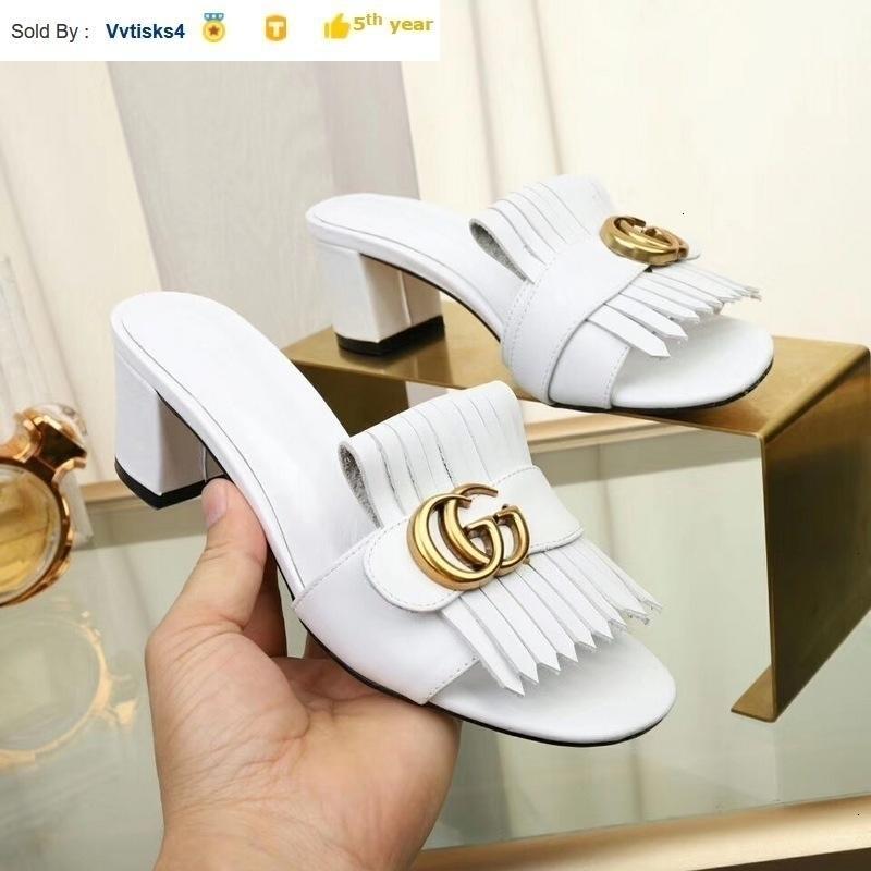 Summer women White platform high heels Casual Handmade Walking Tennis Sandals Slippers Mules Slides Thongs