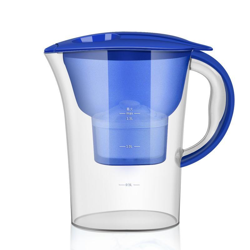Haushalt Kessel-Wasseraufbereitungsaktivkohle Cups Filter Pitcher 2.5L