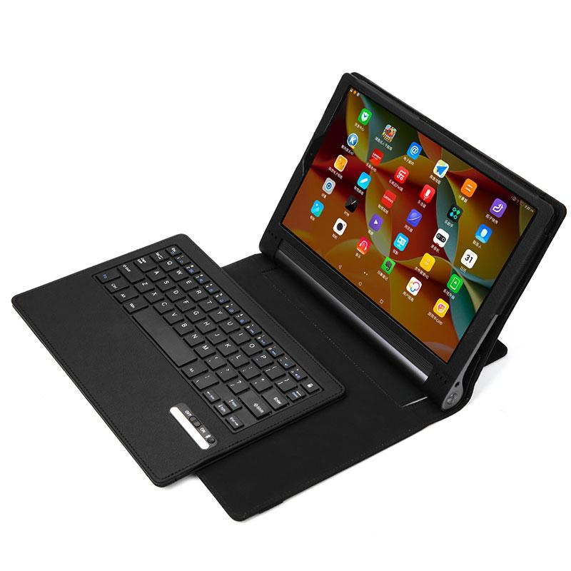 New Portable Tablet Case Business Bluetooth Keyboard with PU Leather Case Cover For Lenovo Yoga Tab 3 Pro 10.1