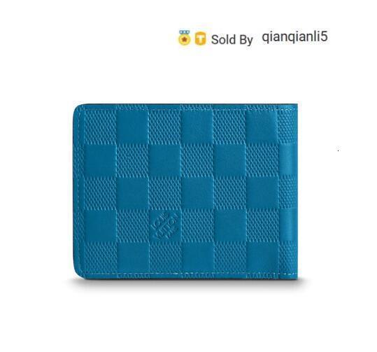 qianqianli5 I2TD MULTIPLE WALLET N60082 Men Belt Bags EXOTIC LEATHER BAGS ICONIC BAGS CLUTCHES Portfolio WALLETS PURSE