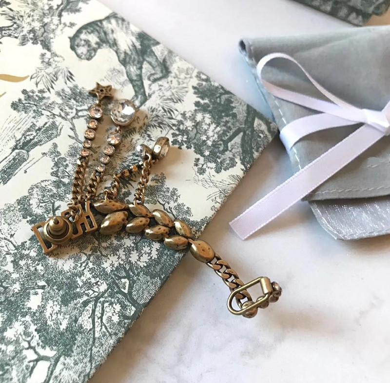 D Jia ja accesorios clip de hoja de oreja de trigo carta pendientes borla aguja de plata 925 Pendientes de mujer oreja de alta versión