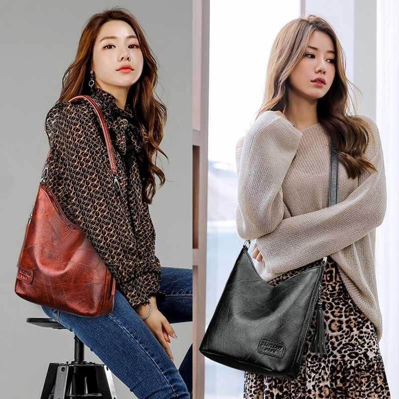 Royadong for Tassel Sacs de luxe Sacs de luxe Femmes Femme Femme Sacs Sacs Vintage Sacs à main Tote Sac 2020 Messager Mesdames TNRRJ