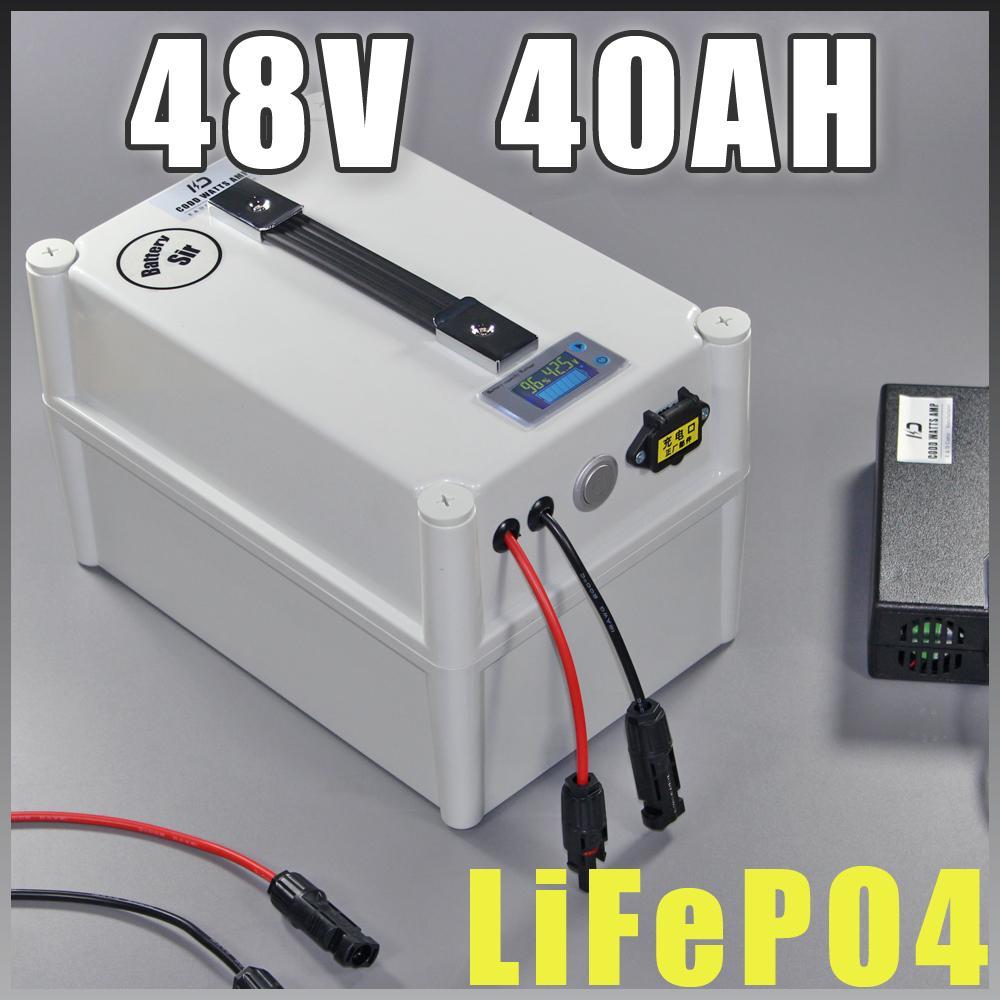 48V 40AH LiFePO4 A123 2000W 3000W elettrico della batteria della bicicletta