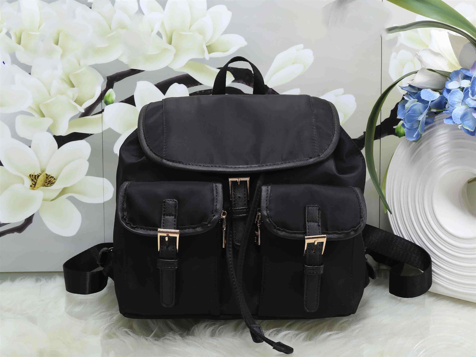 2020 Yepyeni sırt çantası paraşüt su geçirmez naylon kanvas sırt çantası eğlence seyahat kadınların sırt çantası okul çantası ücretsiz gönderim