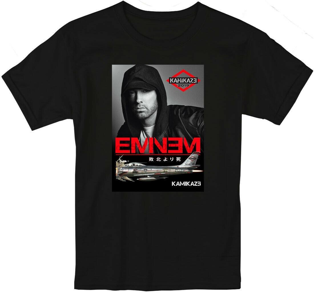 Yeni Eminem Kamikaze 2019 T Shirt Erkekler Ve Kadınlar S-5XL Aloha Stadyumu