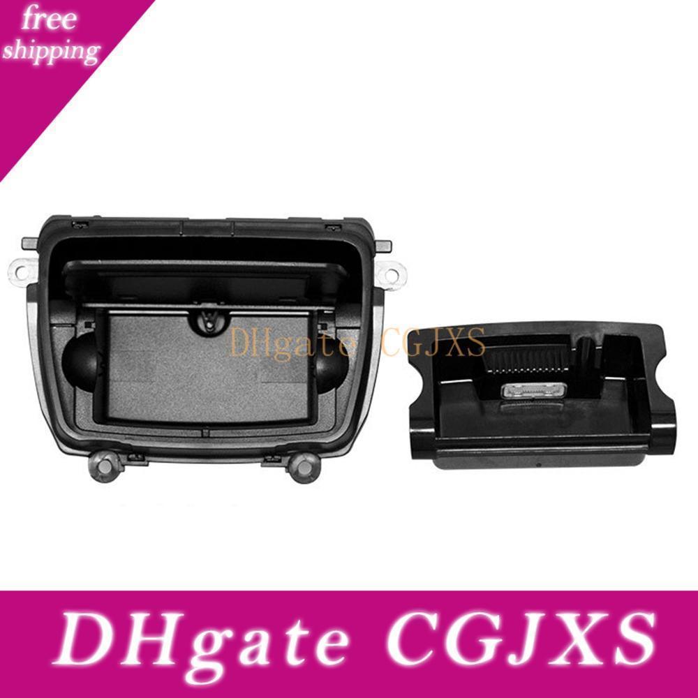 Auto Aschenbecher aus schwarzem Kunststoff Mittelkonsole Aschenbecher Montage Box passend für 5er F10 F11 F18 520 51169206347