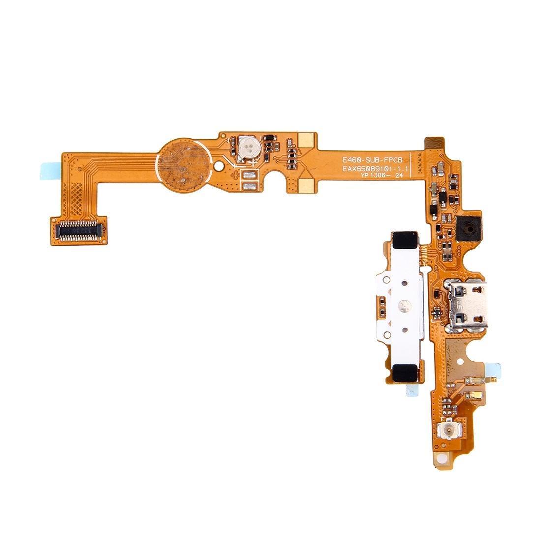 Puerto de carga Flex Cable para LG Optimus L5 II / E460