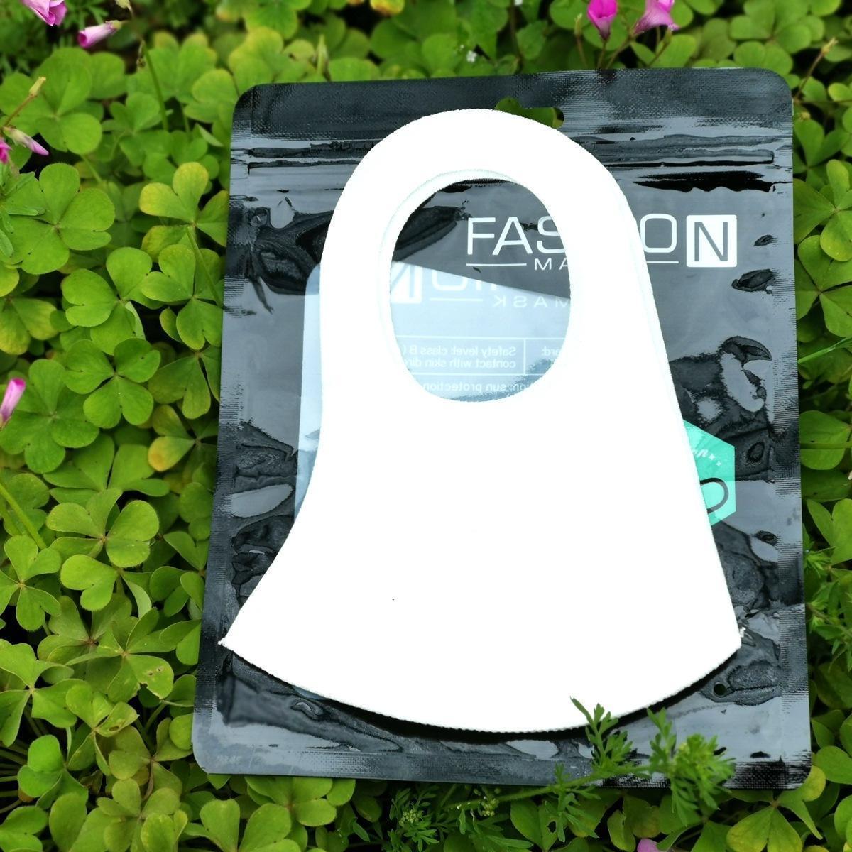 Sin unisex reutilizable libre de contaminación de la válvula del respirador envío máscara facial lavable correas anchas esponja a prueba de polvo de la respiración de mufla oUSTR allguy