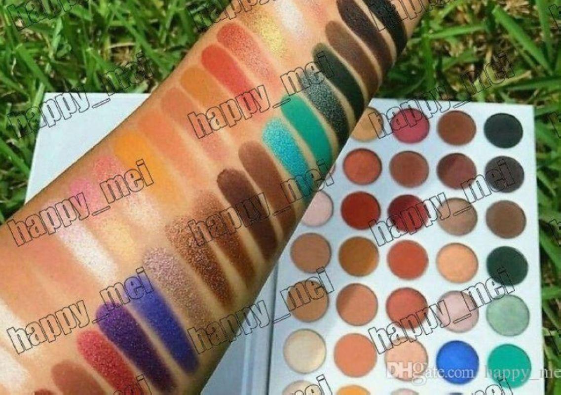Бесплатная доставка ePacket Новый макияж глаз красоты цвета Natural Долговечность Eyeshadow Palette! Happy_mei