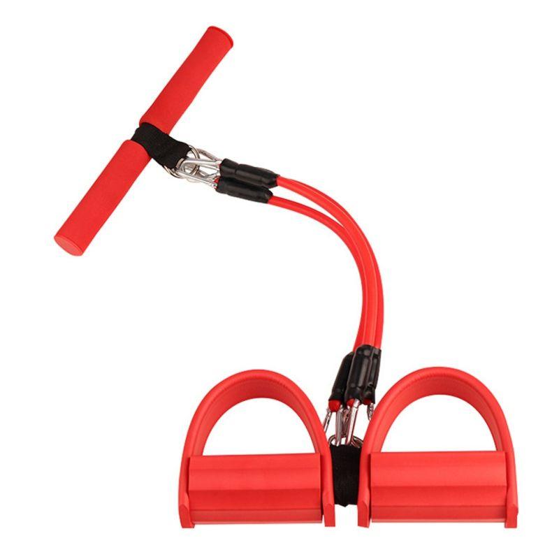 3 1 fonksiyonlu Yoga Pedal yılında Egzersiz Güçlü Spor Direnç Gruplar Egzersiz Sit- Yukarı Yoga Gear Pedal lateks