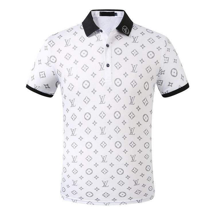 2020 luxus europa paris patchwork männer tişört modu tasche tasarımcı tişört rahat männer Kleidung medusa Baumwolle t luxus polo m-3XL