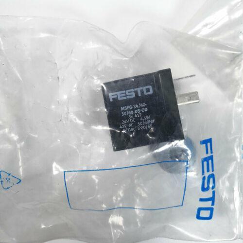 Festo MSFG-24/42-50/60-DS-0D 34412 24V DC 4.5W 42V AC 50/60Hz Solenoid coil