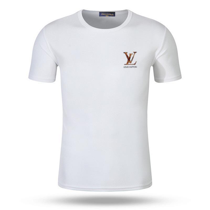 T Shirt manica corta Nuovo 2019 Vintage Shirt Mens Estate Tees Plus Size latte cotone stampato maglietta 3D Designers Abbigliamento S-XXXXL Golf Tshirt