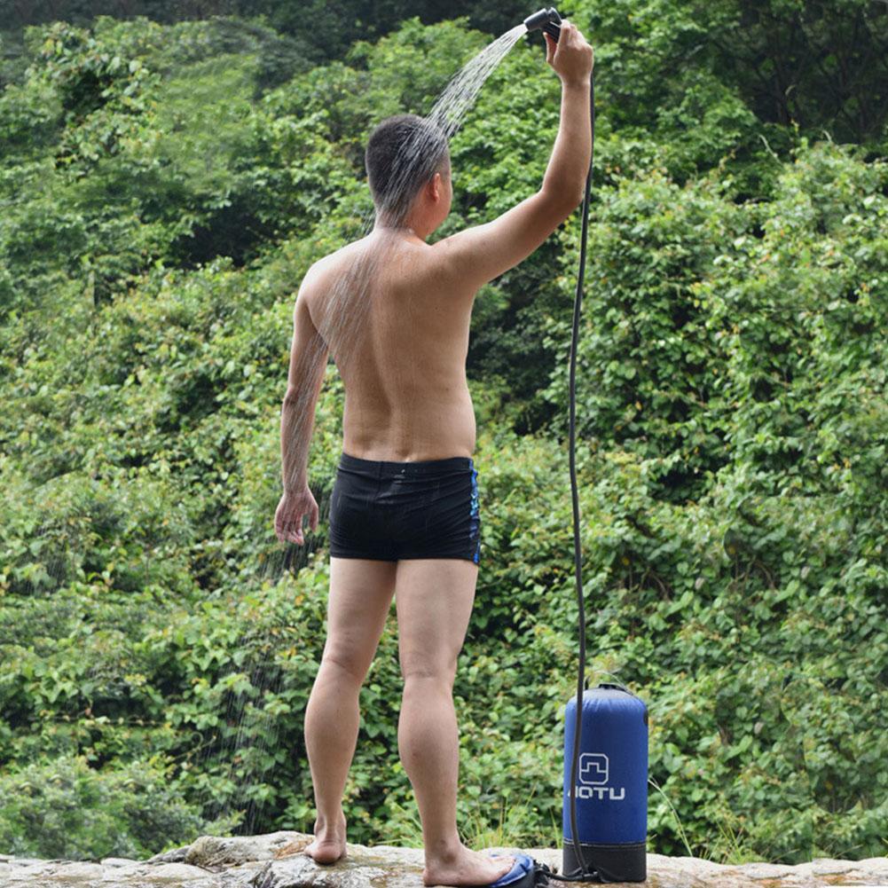 Сумка складной воды Набор большой емкости Душ давление Пикник Открытый Надувные