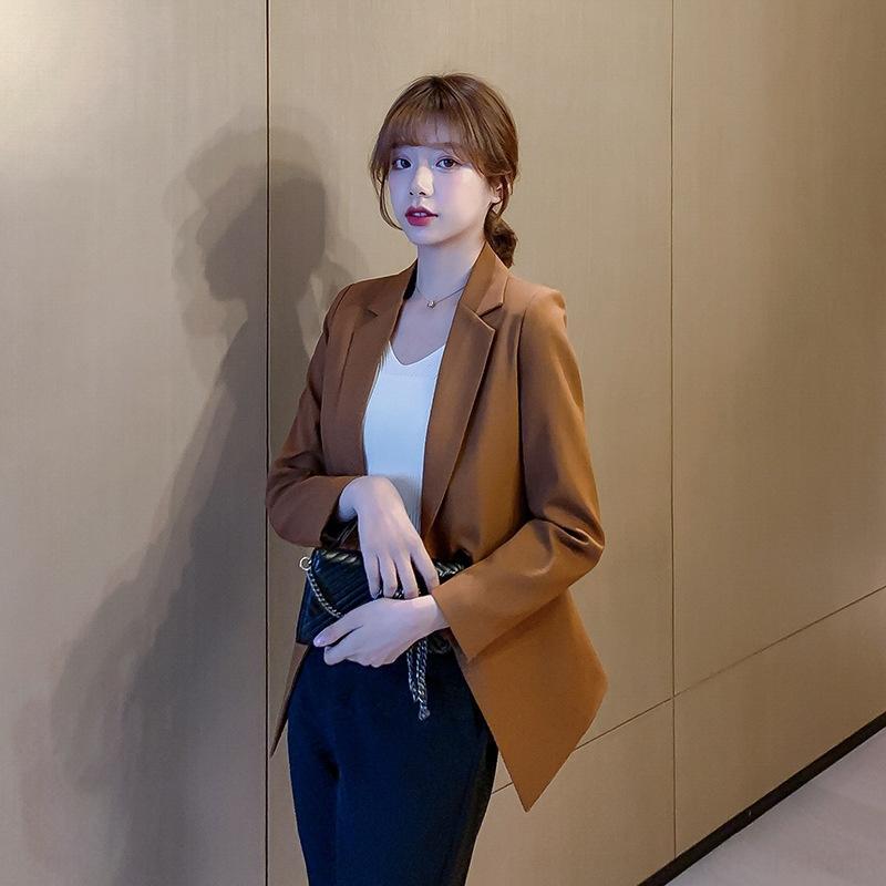 4ChgM slim fit GIACCA primaverile Top delle donne coreane del vestito 2020 celebrità della moda on-line estate giacca piccolo vestito tutto-fiammifero vita dimagrante