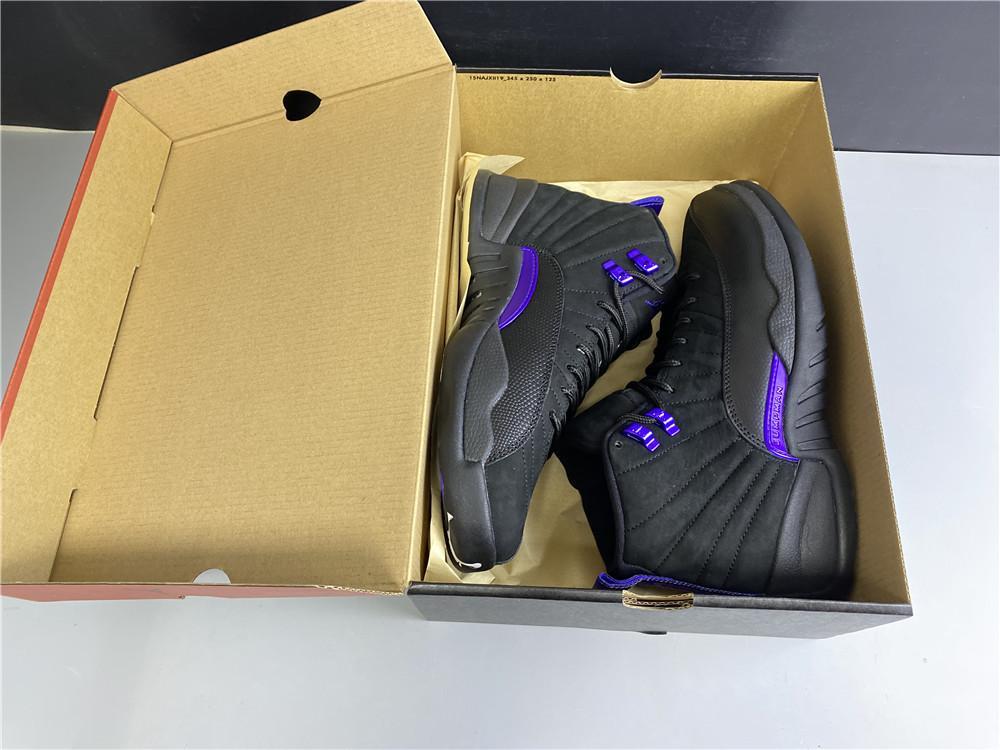 2020 Yeni With Box Erkek Kapalı 12s Basketbol Ayakkabı 12 Koyu Concord Spor Dış Mekan Spor Ayakkabıları Moda Sneakers