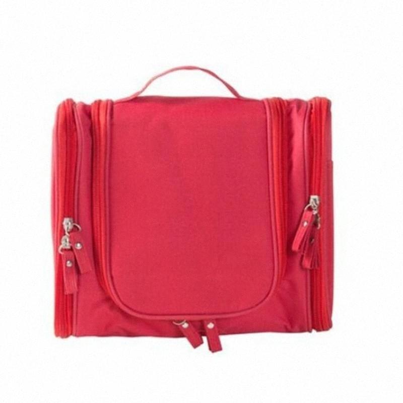 Новый Творческий Подвесной крюк двойной Open Wash Bag большой емкости Многофункциональный водонепроницаемый Путешествие Путешествия хранения SQEU #