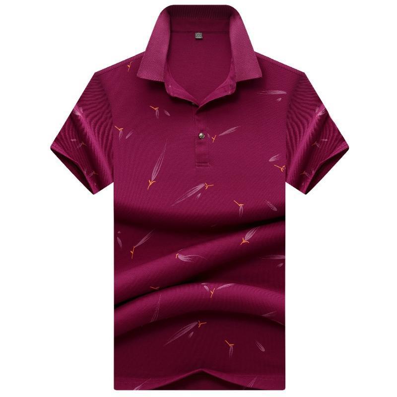 Nouvelle arrivée Angleterre 2020 de style Hommes Chemise d'été à manches courtes Polos Shirt Mens solide 95% coton, auquel