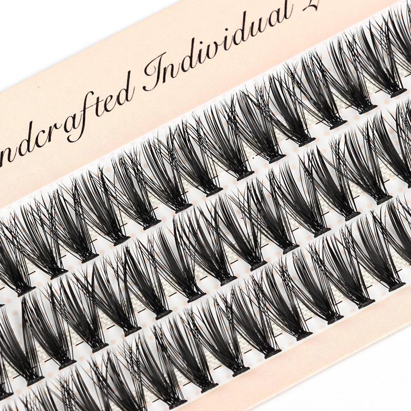 Wimpernverlängerung Natürliche Faux Mink Wimpern Individual 10/20 / 30D Cluster Lashes Makeup Cilia falsches Augen-Lashes