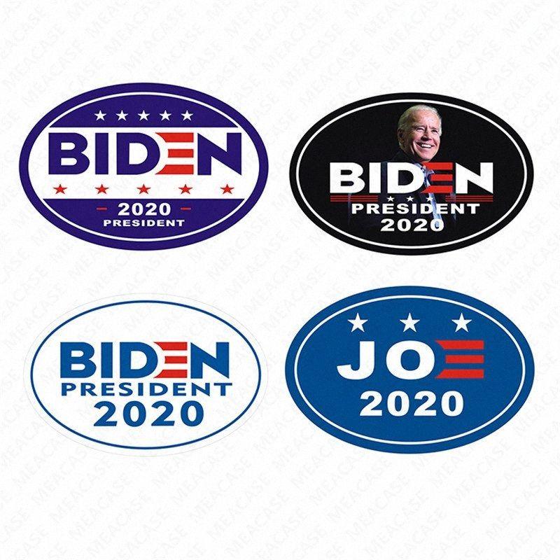 2020 MAGNÉTICA 2020 Joe Biden los EE.UU. Elección letras impresas etiqueta engomada del coche imán conveniente para Metales impermeable etiqueta Decorati VY2U #