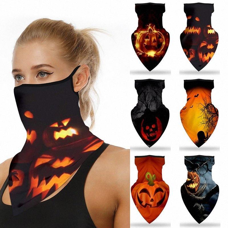 6 cores máscaras de Halloween Halloween Variety Magia Turban Triângulo bicicleta Máscara Toalha equitação máscara máscaras partido DHF754 MzGd #