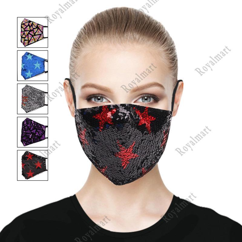 Maschera per la maschera sottile della maschera del viso della sequin della sequestrazione dell estate di estate della tendenza maschile della maschera di modo della personalità