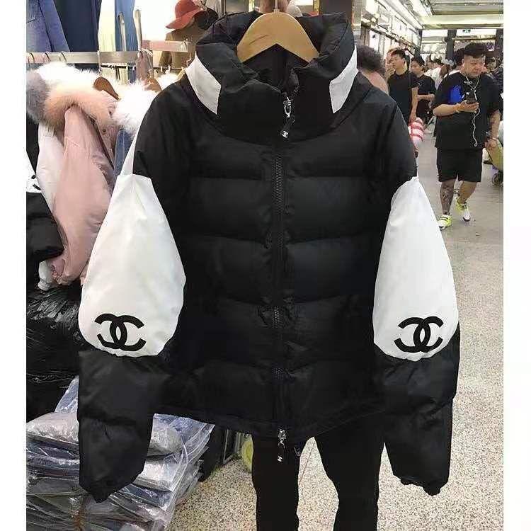 2020Fashion donne Bubble Coats Giù Parka Puffer giacche corte cappotto caldo outcoat Zipper stand colletto della giacca oversize Parkas Mujer