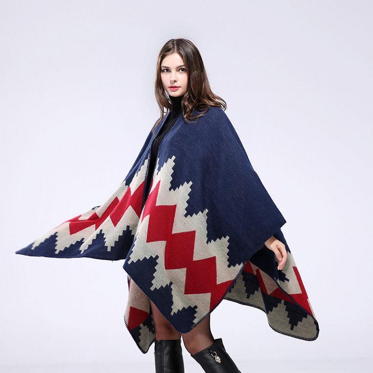 클래식 랩 새로운 패션 높은 품질 모조 캐시미어 스카프 숄 가을과 겨울 빈티지 자카드 무늬 파시미나