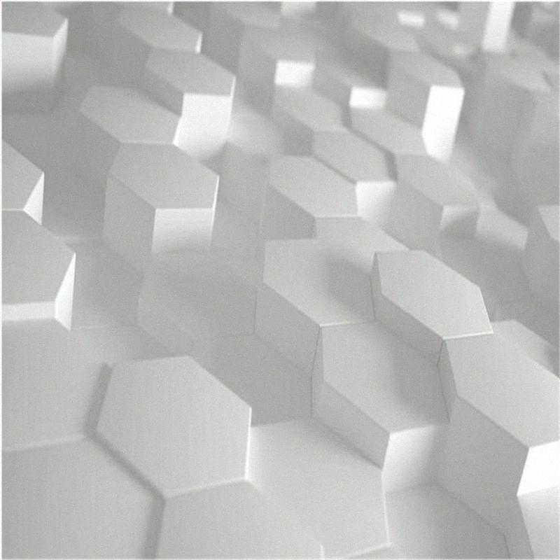 Фотообои обои Простой 3d стерео геометрические обои ТВ фон стены qT0k #